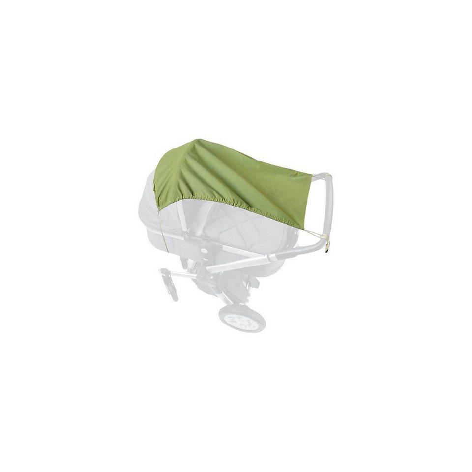 priebes Sonnensegel UV-Schutz 50+ für Kinderwagen und Buggy, Samson, in limegrün