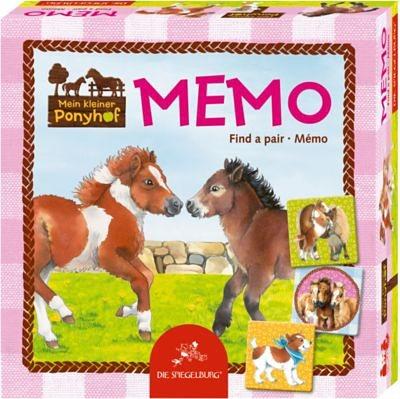 Spiegelburg Memo Mein kleiner Ponyhof