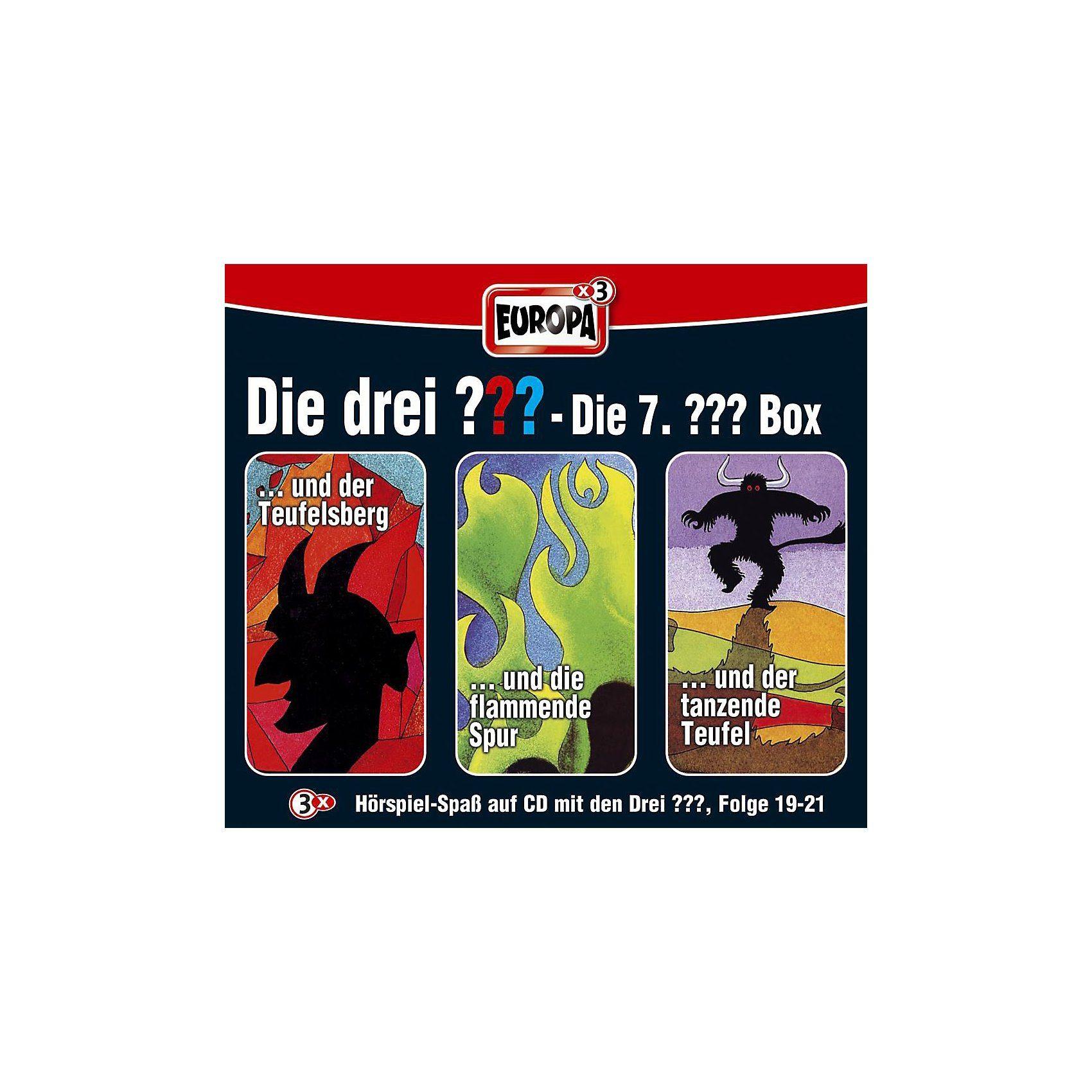 Sony CD Die Drei ???: Box (19-21)