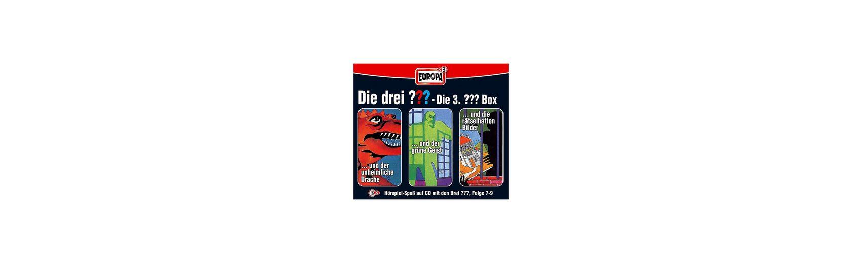 SONY BMG MUSIC CD Die drei ??? 007-009: Box (Folge 7 - 9)