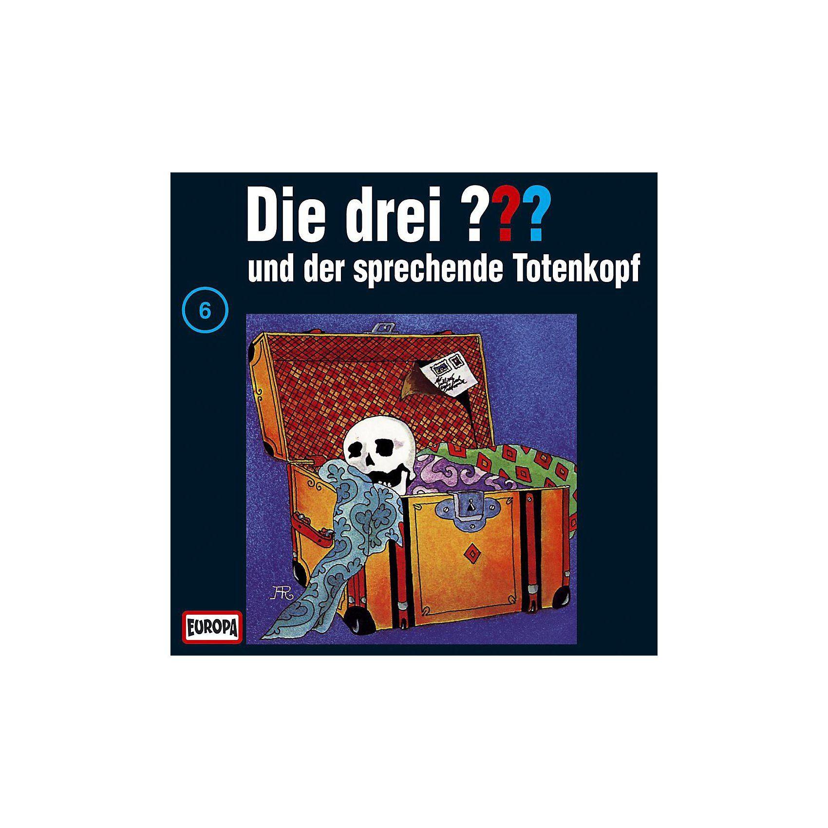 Sony CD Die drei ??? 006 (der sprechende Totenkopf)