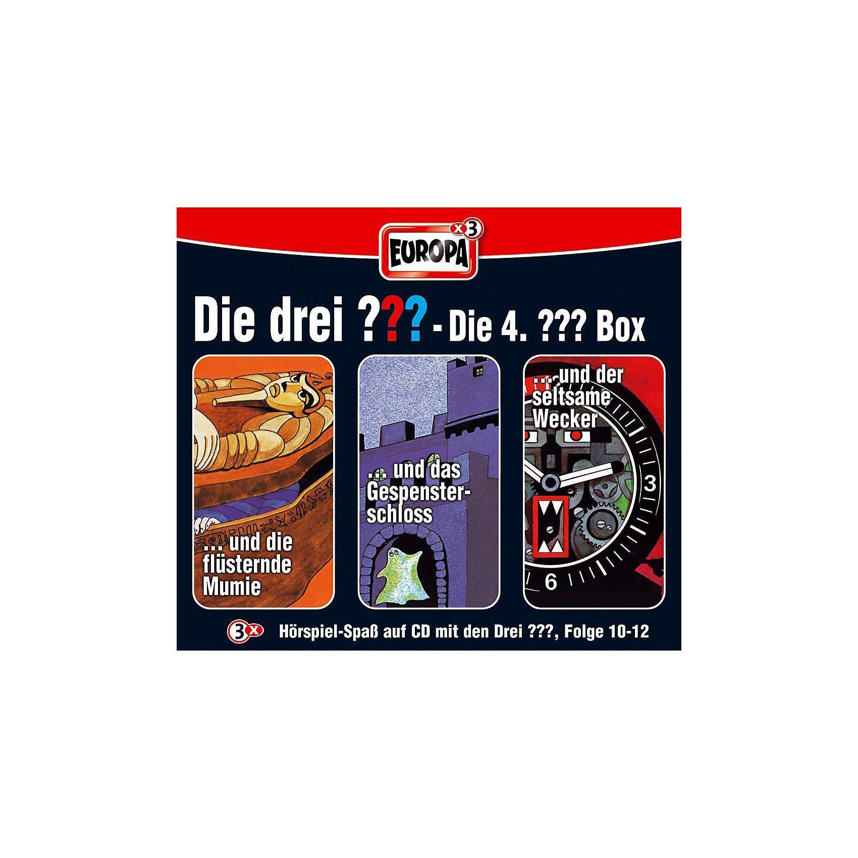 Sony CD Die drei ??? 010-012: Box (Folge 10 - 12)
