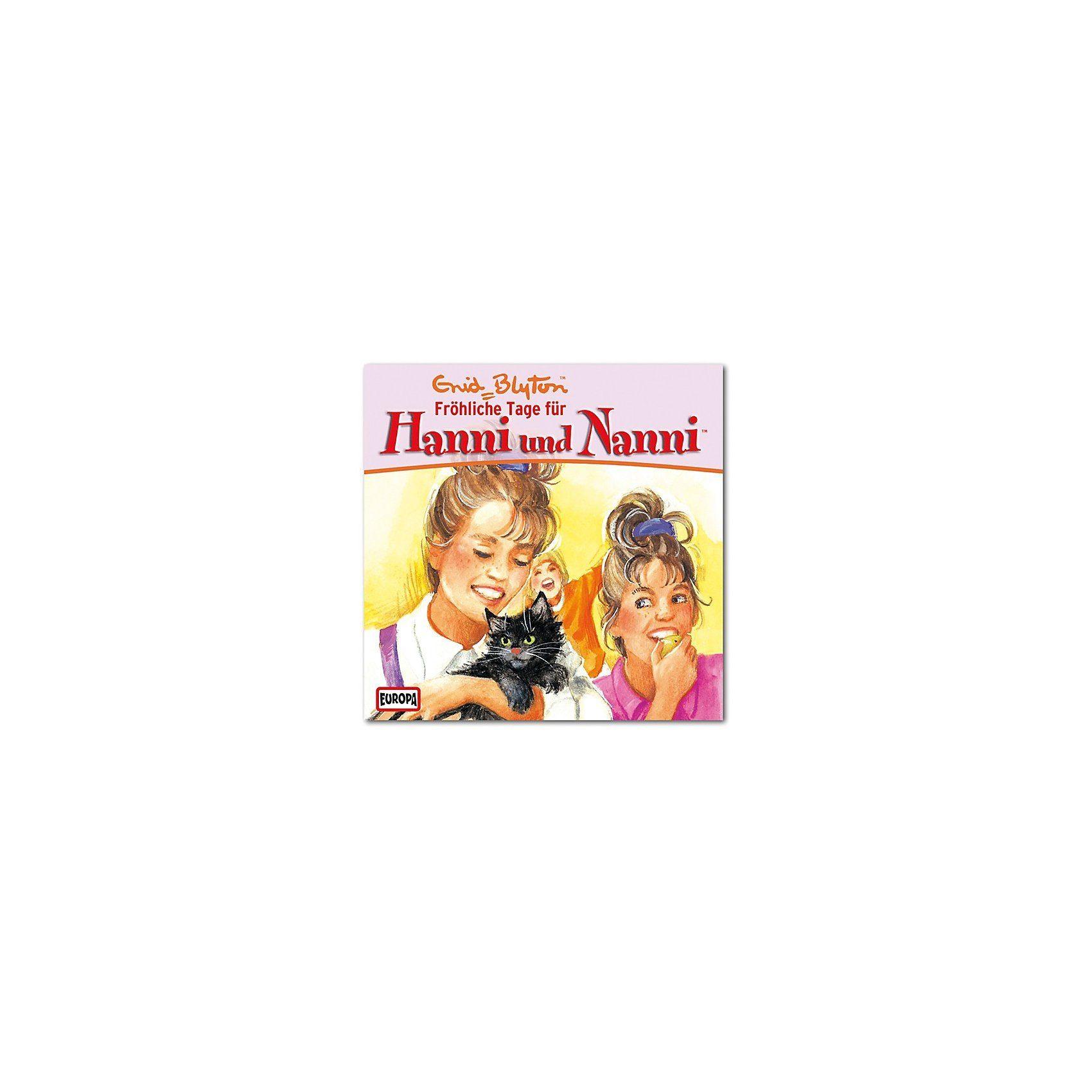 Sony CD Hanni & Nanni 08 - Fröhliche Tage für Hanni und Nanni