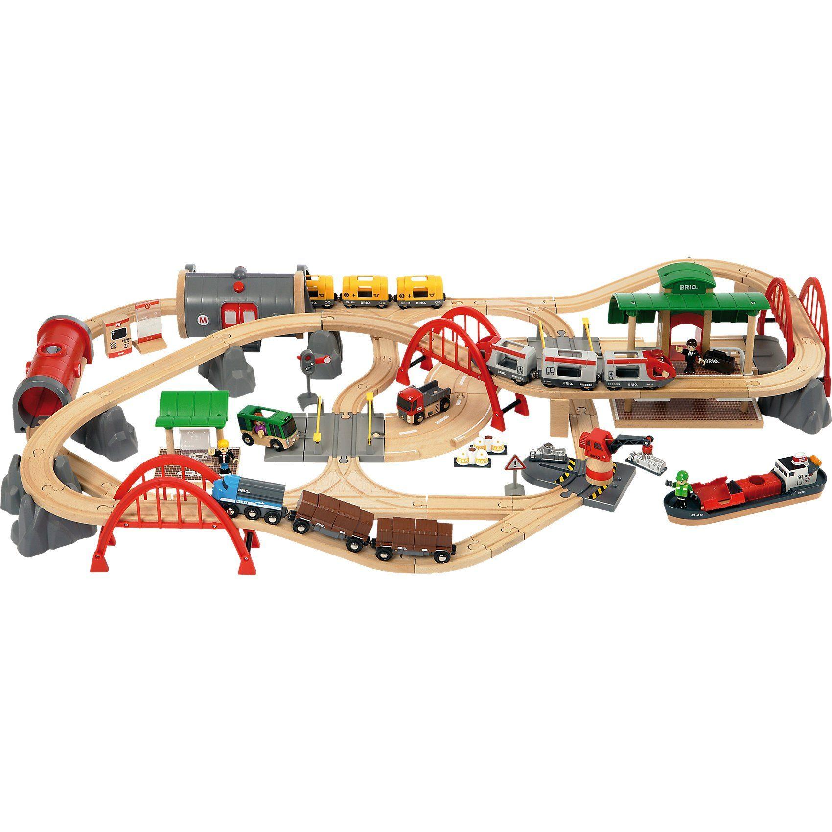 BRIO Straßen & Schienen Set Deluxe