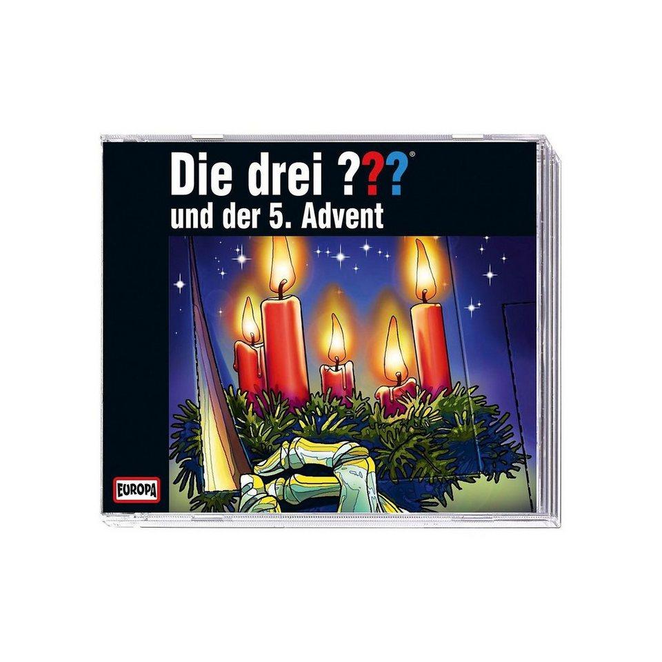 SONY BMG MUSIC CD Die drei ??? und der 5. Advent - Limitierte Ausgabe