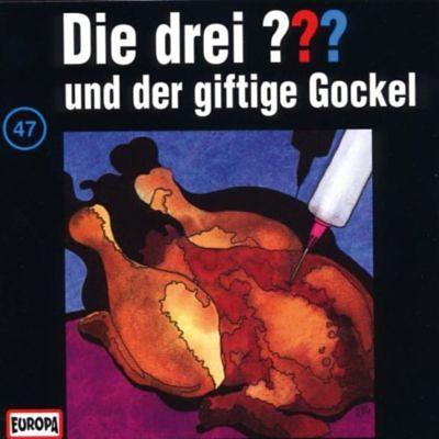 Sony CD Die Drei ??? 047/und der giftige Gockel