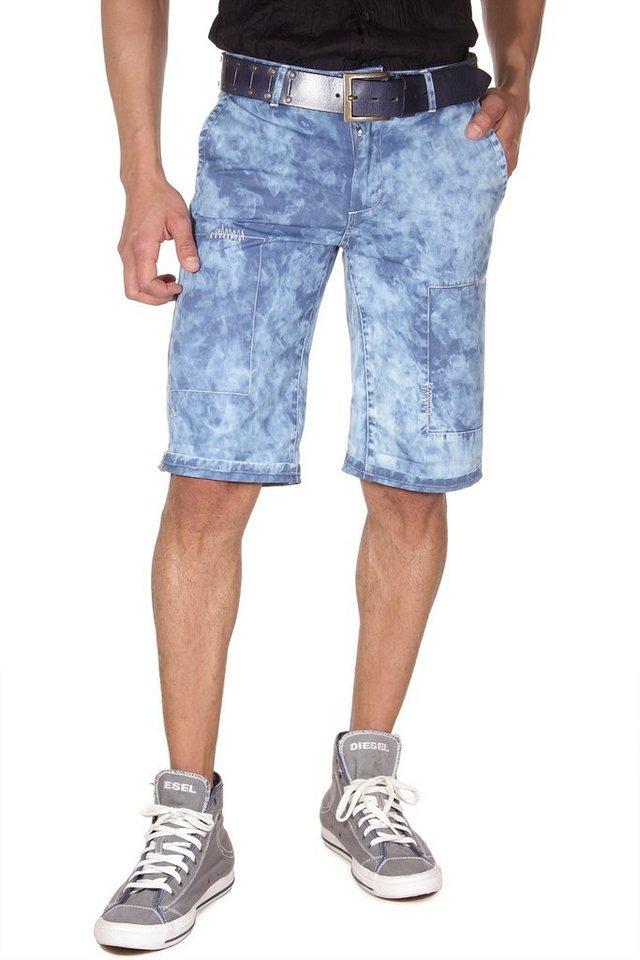 BLEND Shorts slim fit in blau