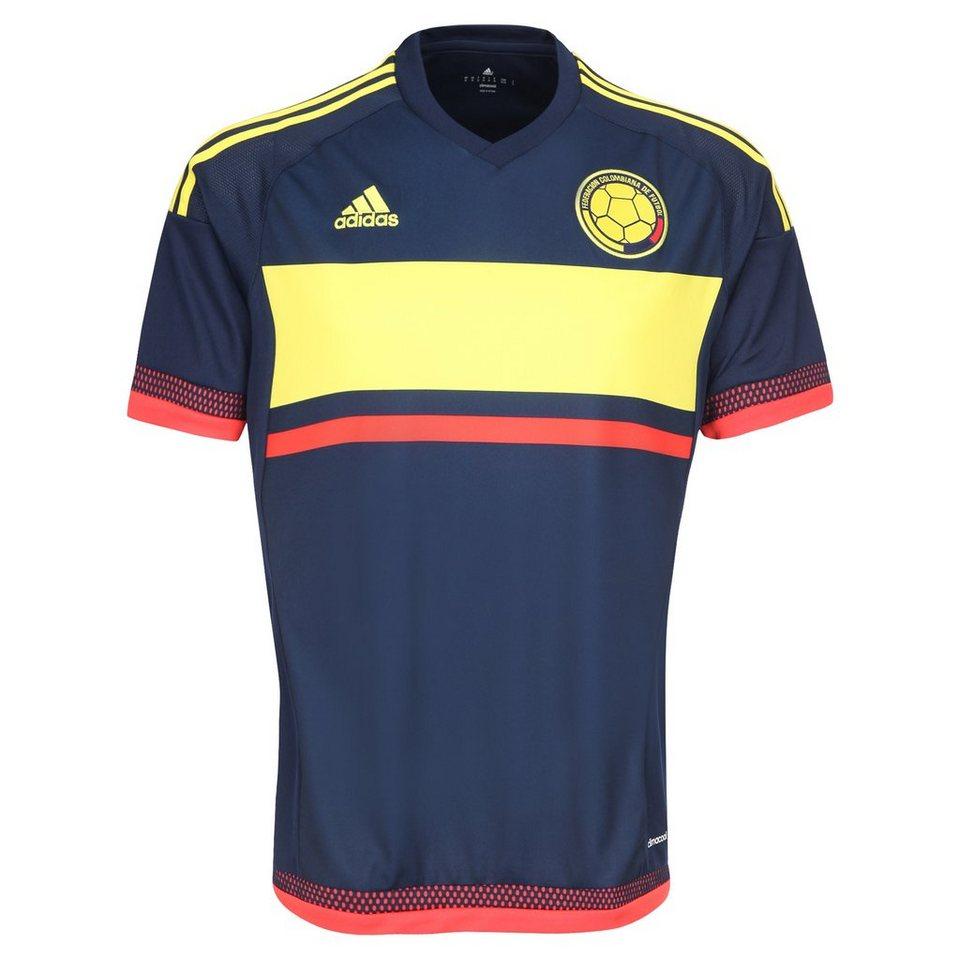 adidas Performance Colombia Trikot Away Copa America 2015 Herren in blau / gelb / rot