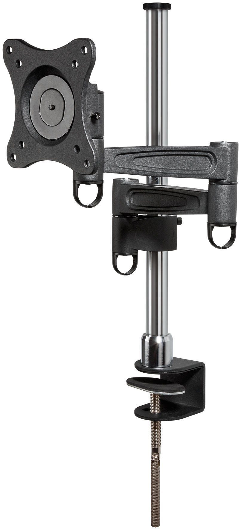 """goobay Monitor Teleskop-Tischhalter für Monitore bis 69 cm (27"""") »ScreenScope«"""