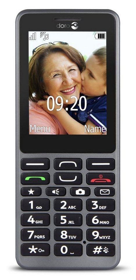 Doro Handy »PhoneEasy 509 (stahl)« in Grau