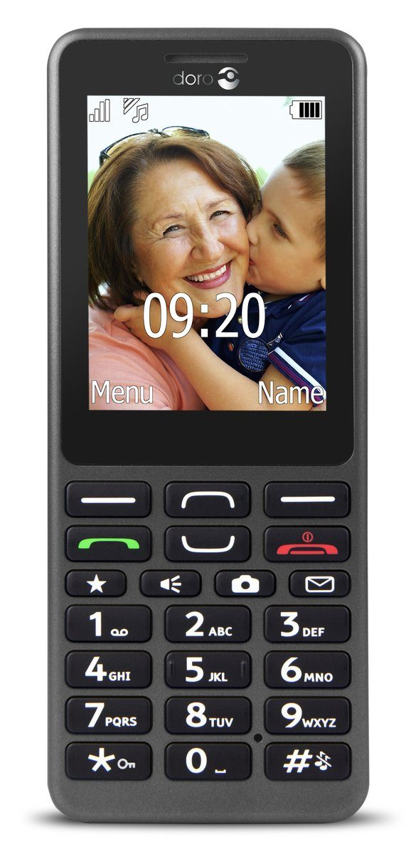 Doro Handy »PhoneEasy 509 (graphit)«