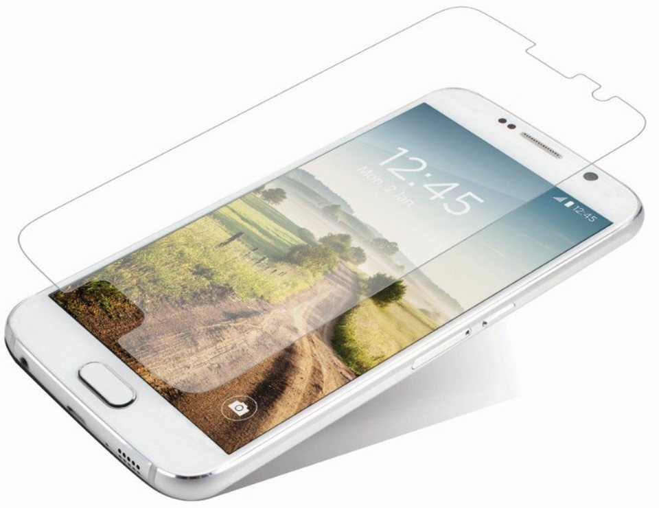 invisibleSHIELD Folie »Glass Displayschutzfolie für Samsung Galaxy S6« in Transparent