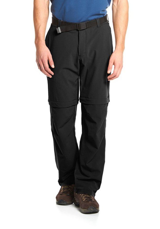 MAIER SPORTS Funktionshose zipp-off »Tajo« in black