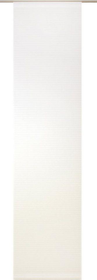 Schiebegardine, Wirth, »Vera« (1 Stück mit Zubehör) in weiß