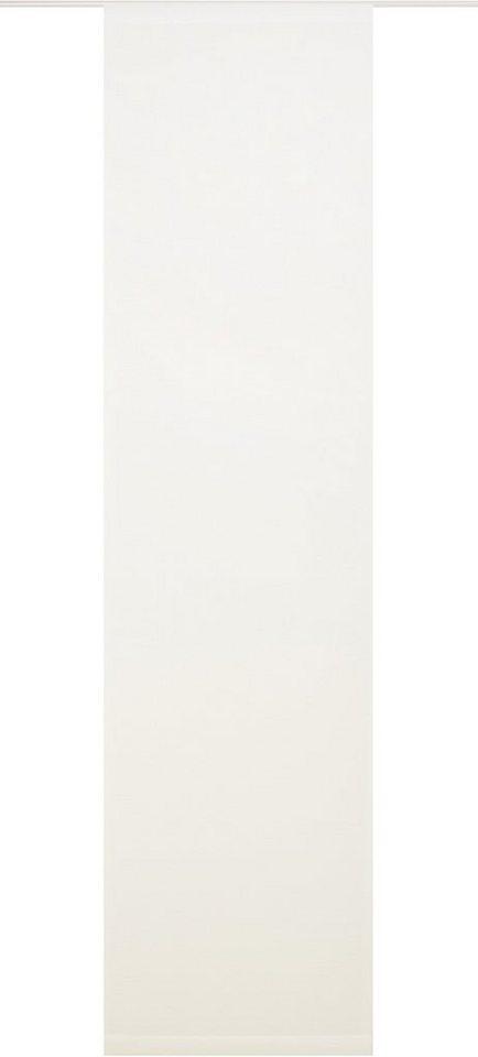 Schiebegardine, Wirth, »Clarissa« (1 Stück mit Zubehör) in weiß
