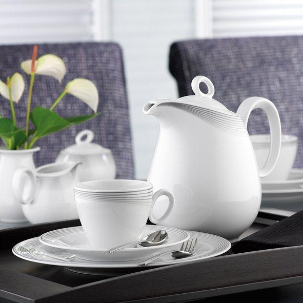 seltmann weiden kaffeeservice 20 tlg trio nero otto. Black Bedroom Furniture Sets. Home Design Ideas
