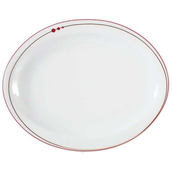 Seltmann Weiden Teller oval Top Life Mirage in Weiß