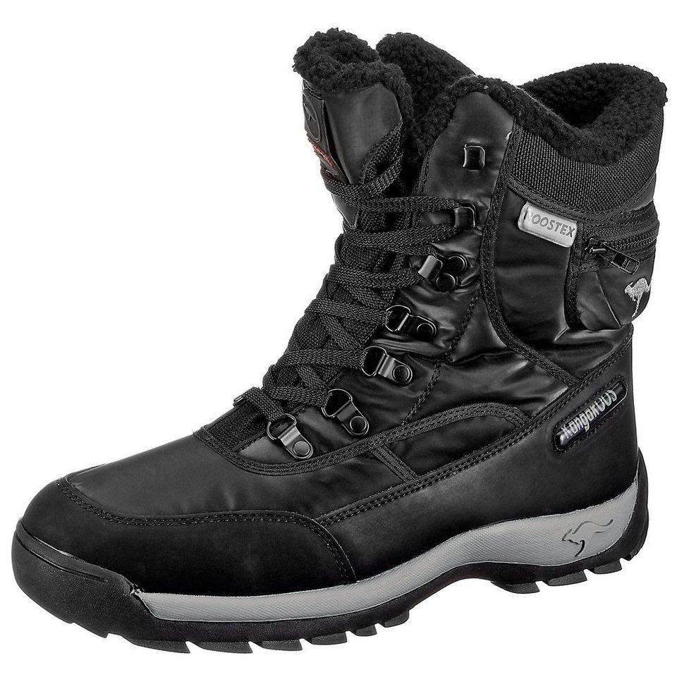 KangaROOS Aspen Snow Boots in schwarz