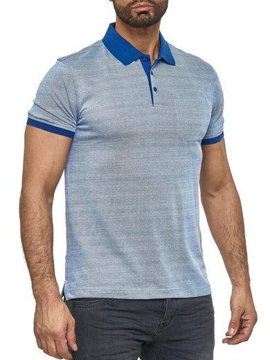 Max Men Poloshirt »3175« Herren Poloshirt mit Kragen Basic Punkte