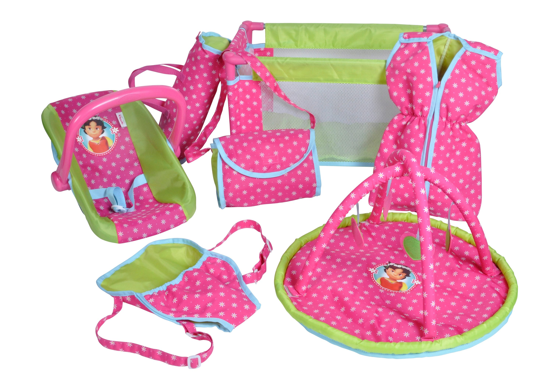 Puppen-Reiseset, »Heidi«, knorr toys (7tlg.)