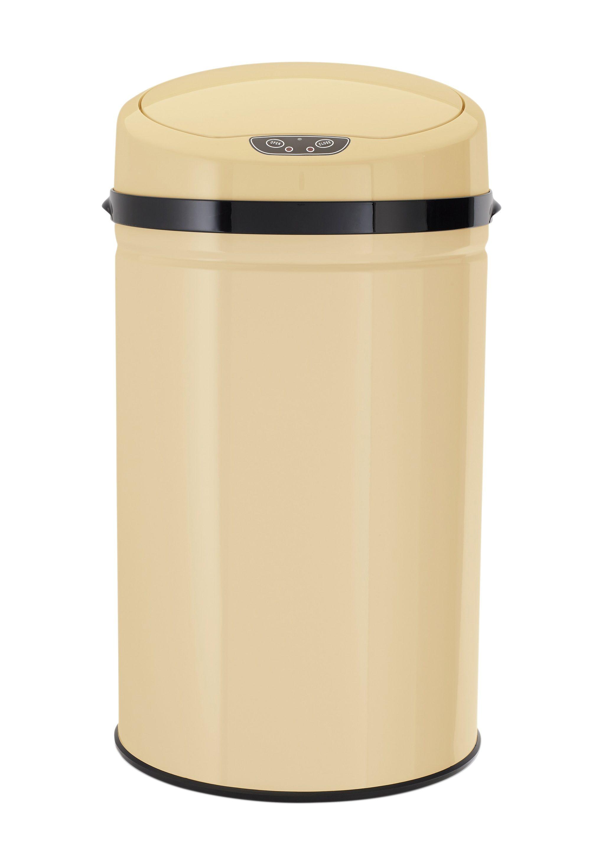Edelstahl-Abfalleimer mit Infrarotsensor, 30 Liter, »INOX VANILLA«, Echtwerk