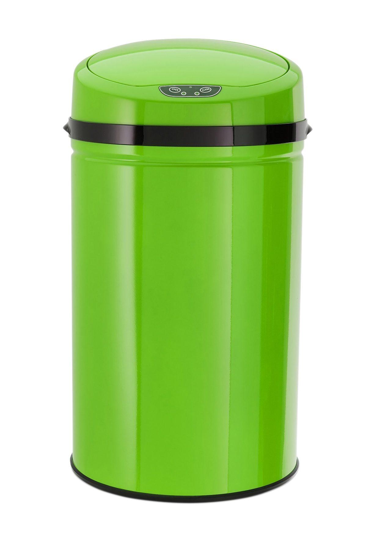 Edelstahl-Abfalleimer mit Infrarotsensor, 30 Liter, »INOX LEMON«, Echtwerk