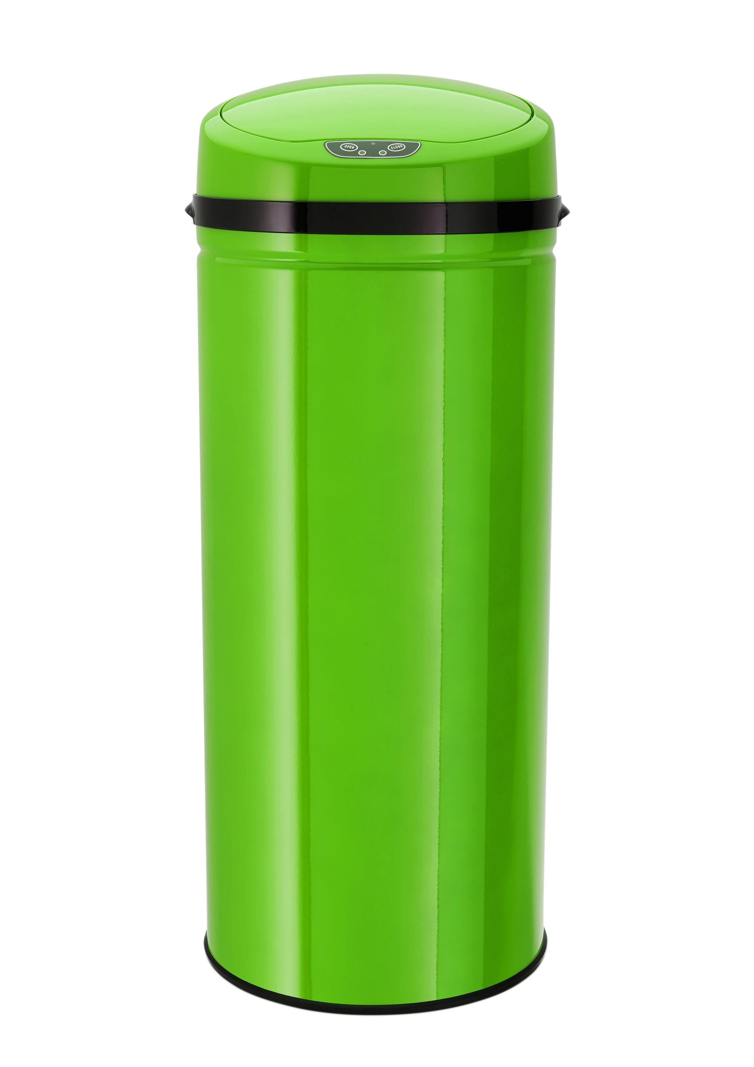 Edelstahl-Abfalleimer mit Infrarotsensor, 42 Liter, »INOX LEMON«, Echtwerk