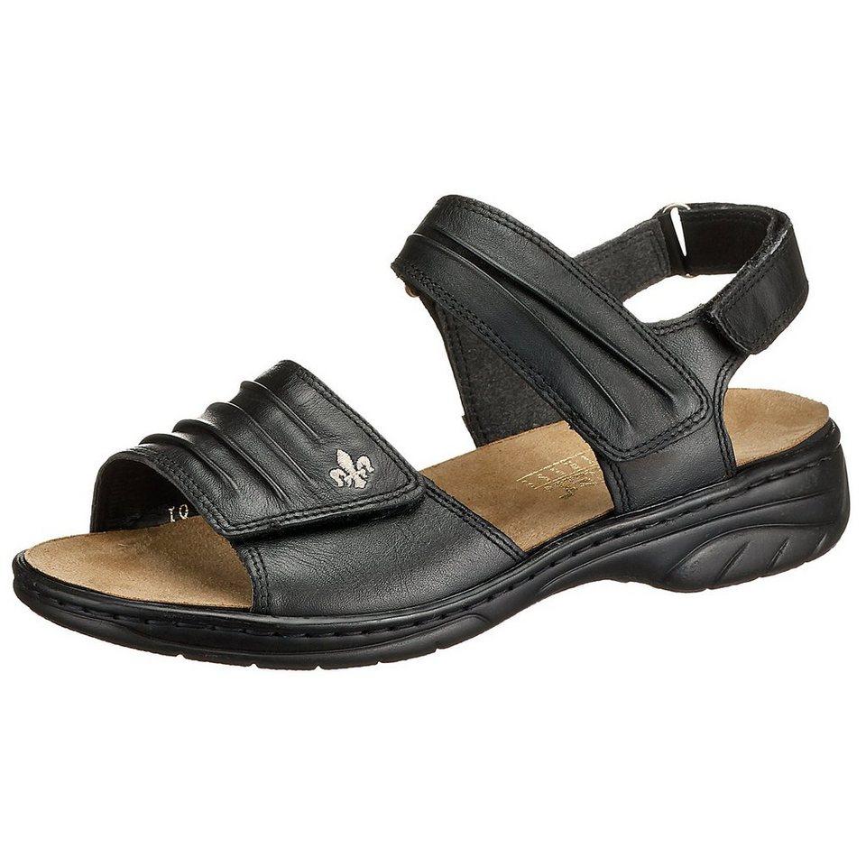 rieker Sandalen in schwarz