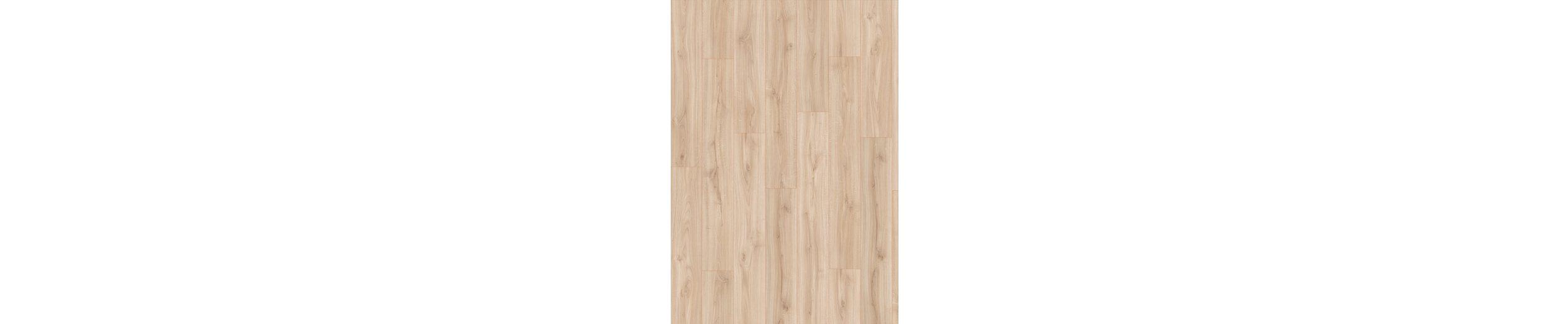 Sockelleisten passend zum Korkpluslaminat »Megafloor cork+«, allee weiß Nachbildung