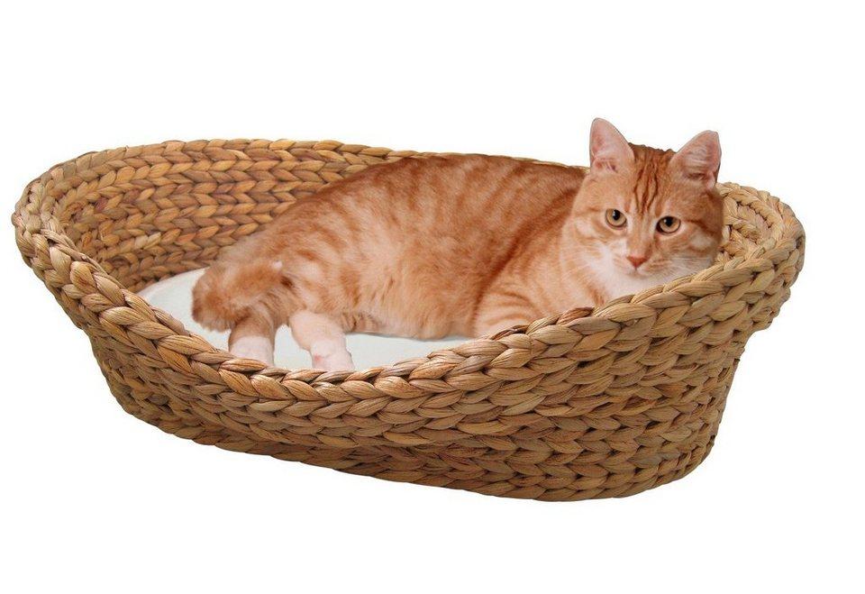 Katzenkorb »Wasserhyazinthe« in braun