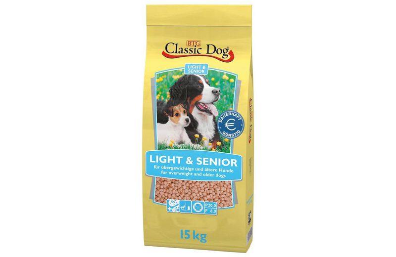 Hundetrockenfutter »Light & Senior«, 15 kg