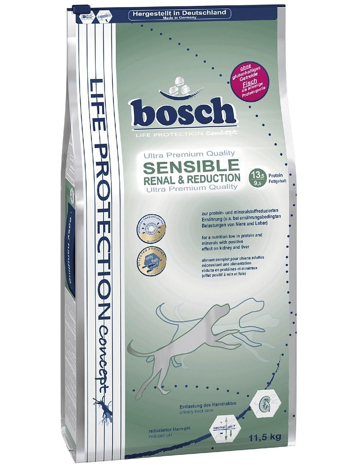 Hundetrockenfutter »Bosch Renal + Reduction«