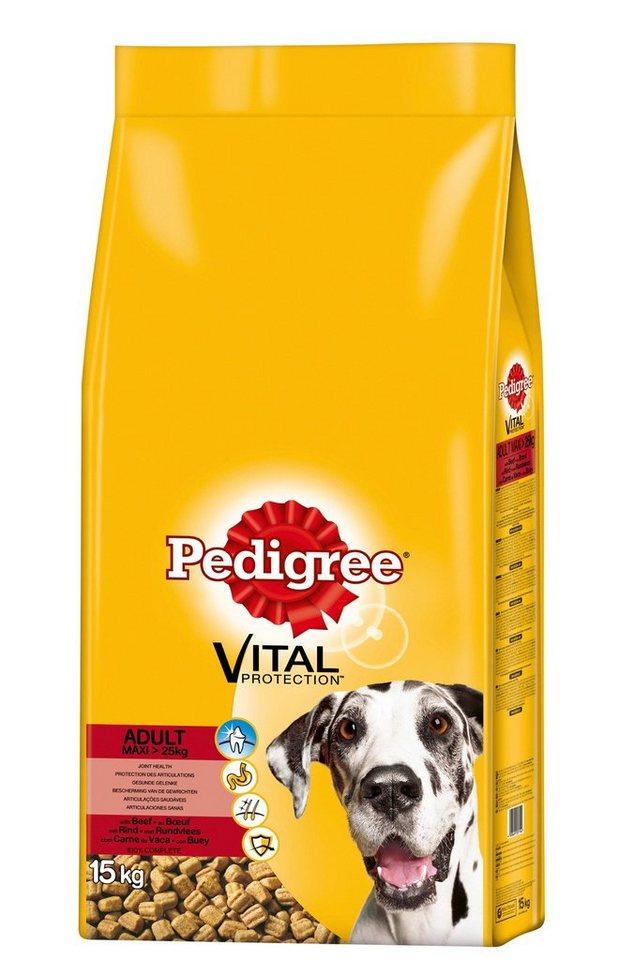Hundetrockenfutter »Vital Protection Adult Maxi«, 15 kg in braun