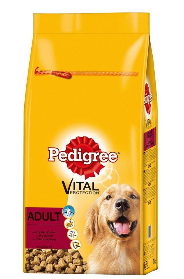 Hundetrockenfutter »Vital Protection Adult«, 15 kg in braun