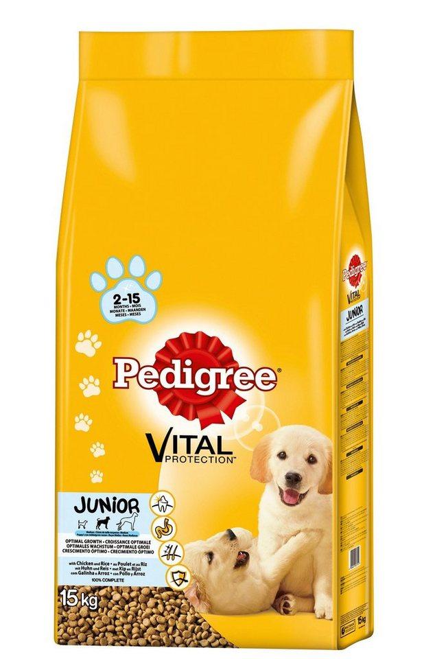 Hundetrockenfutter »Vital Protection Junior«, 15 kg in braun