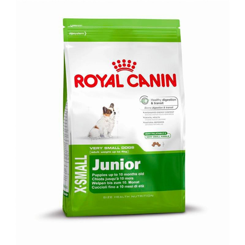Hundetrockenfutter »X-Small Junior«, 1,5 kg oder 3 kg in braun