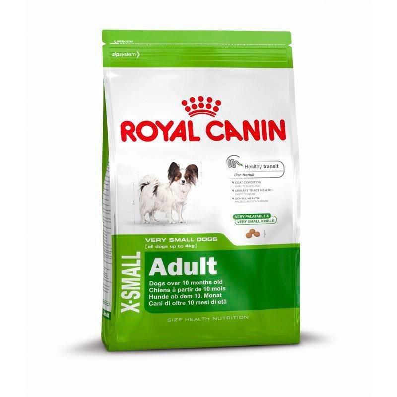 Hundetrockenfutter »X-Small Adult«, 1,5 kg oder 3 kg in braun