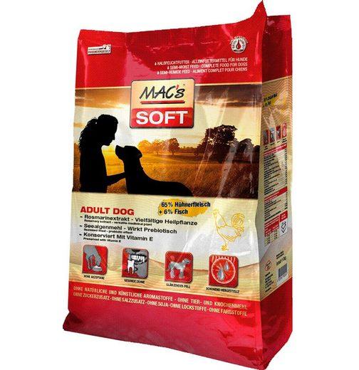 Hundetrockenfutter »Soft Adult Dog Huhn & Fisch«, 15 kg