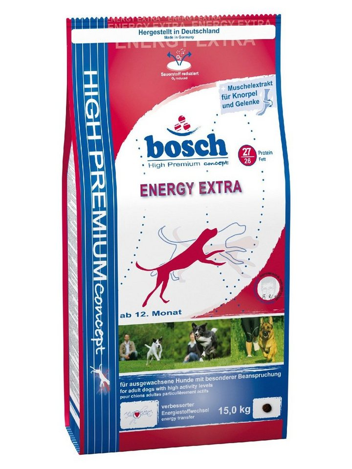 Hundetrockenfutter »Energy Extra«, 15 kg in braun