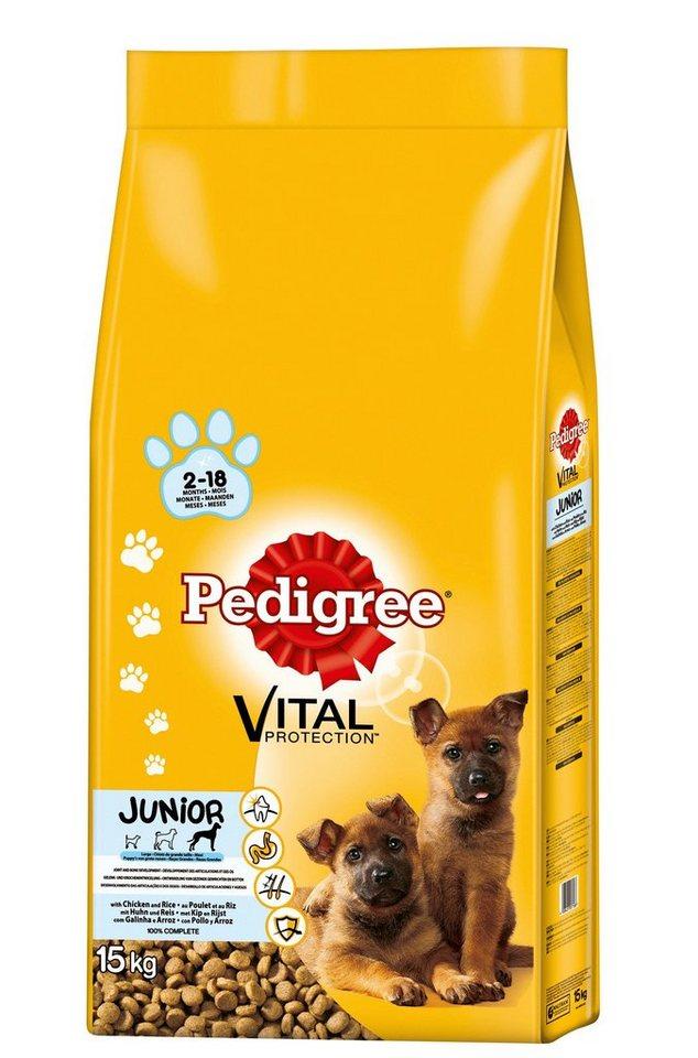 Hundetrockenfutter »Vital Protection Junior Maxi«, 15 kg in braun