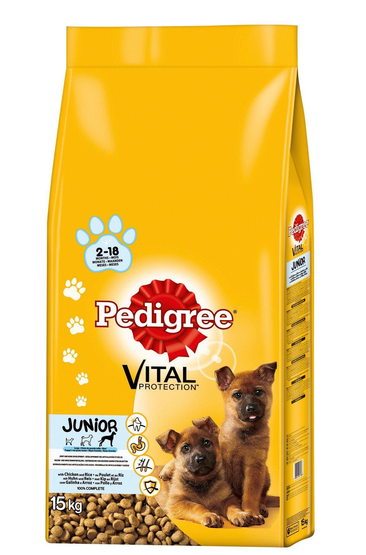 Hundetrockenfutter »Vital Protection Junior Maxi«, 15 kg