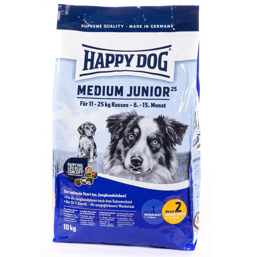 Hundetrockenfutter »Medium Junior«, 10 kg