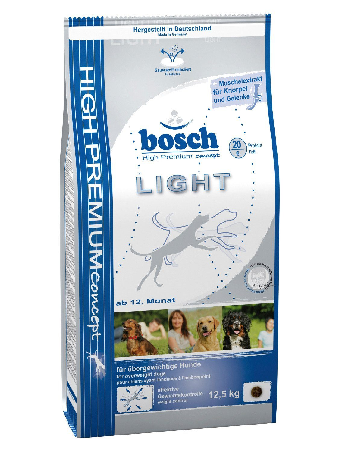 Hundetrockenfutter »Light«, 12,5 kg