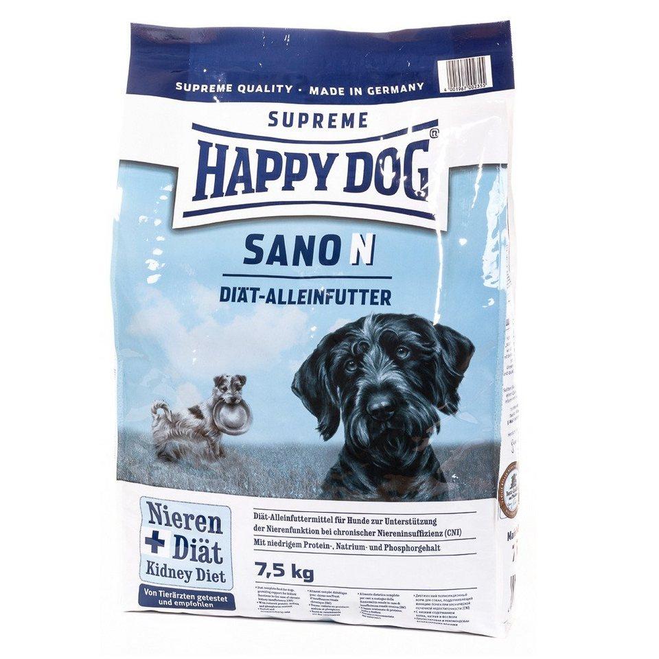 Hundetrockenfutter »Sano N«, 7,5 kg in braun