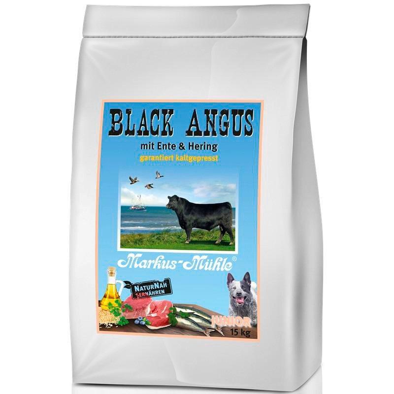 Hundetrockenfutter »Black Angus Junior«, 15 kg in braun