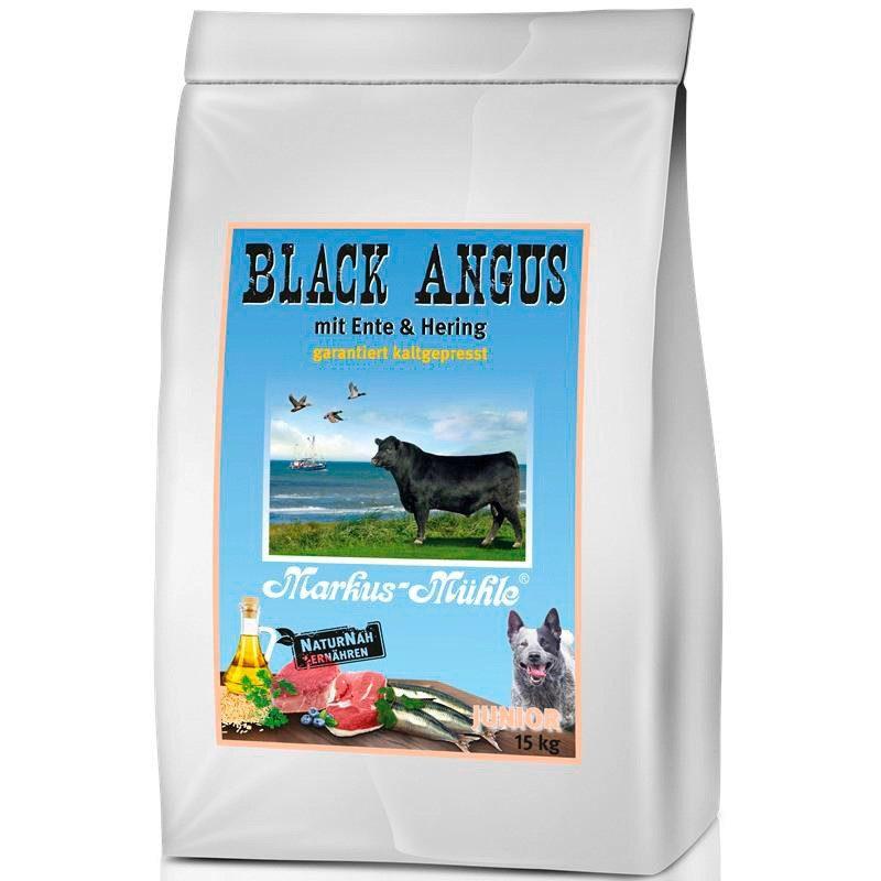 Hundetrockenfutter »Black Angus Junior«, 15 kg