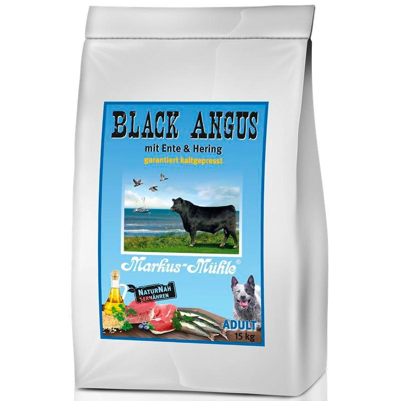 Hundetrockenfutter »Black Angus Adult«, 15 kg in braun