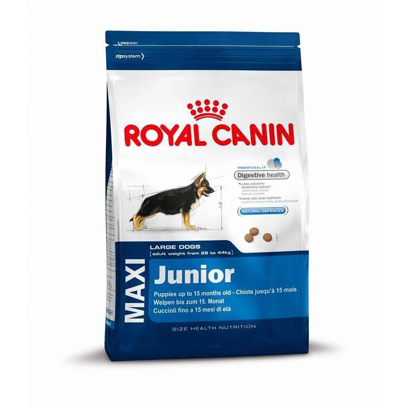 Hundetrockenfutter »Maxi Junior«, 4 kg, 10 kg oder 15 kg in braun