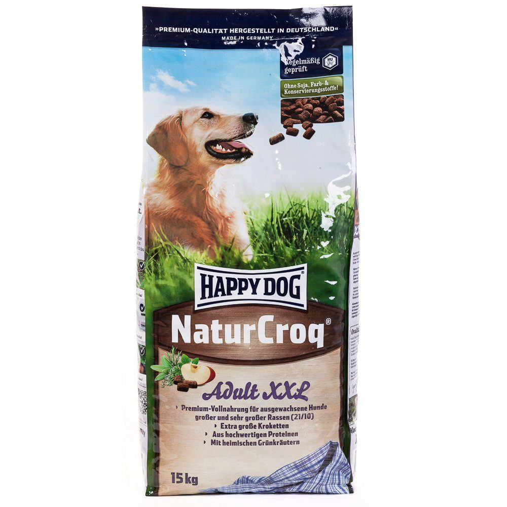 Happy Dog Hundetrockenfutter »NaturCroq Adult XXL«, 15 kg