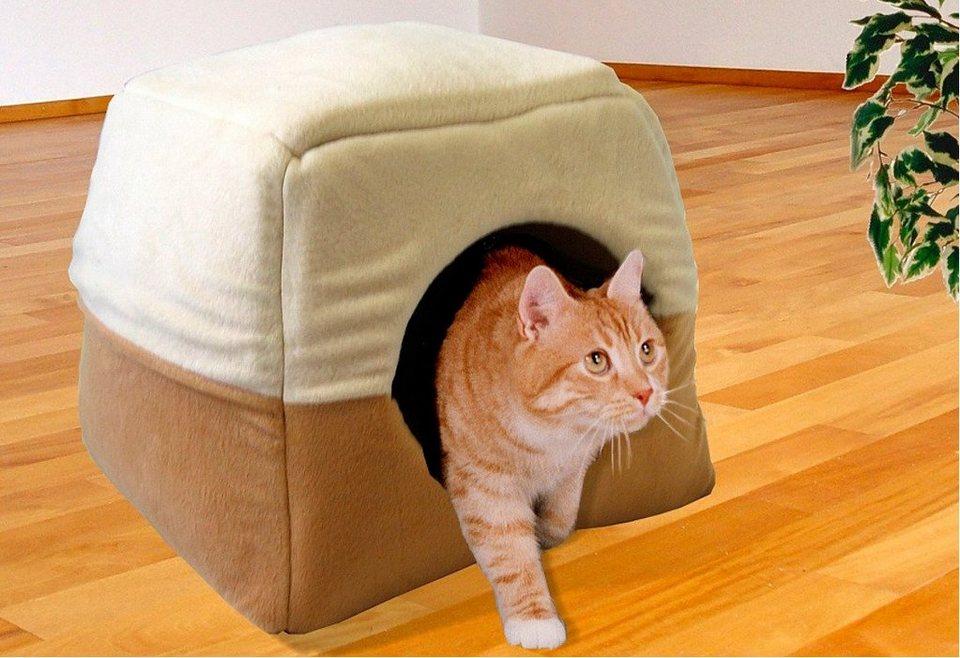 Hundehöhle und Katzenhöhle »Vario« in beige/cremefarben